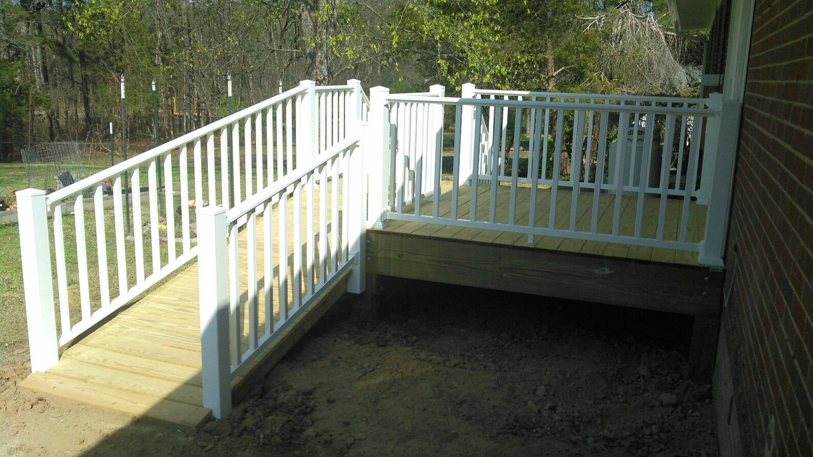 Monroe Residence Project Spotlight: New Deck in Durham